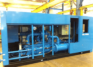 Clean Compressed Dry Air Compressors