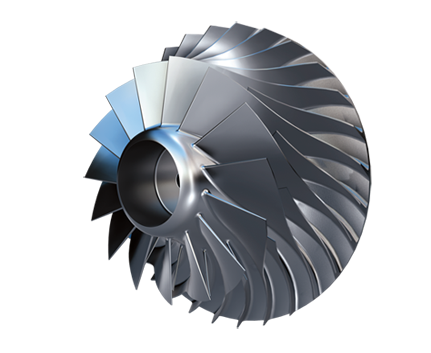 Air compressor impeller